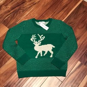 2/$20 Impressions reindeer sweater NWT